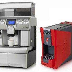 Nieuwe koffie/espresso machines